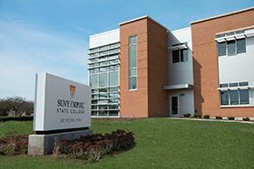Photo of the building where Empire State College has its Rochester, NY office