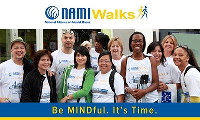 NAMIWalks - Be MINDful. It's Time. photo of walk participants