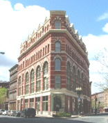 Photo of the Rice Building, where Empire State College has its Troy office.