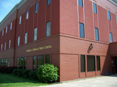 Photo of building on the Cattaraugus Campus of Jamestown Community College where Empire State College has its Olean, NY office