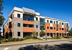 Center for Distance Learning and School of Nursing building at 113 West Ave., Saratoga Springs, NY