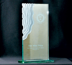 Named for Jane W. Altes, former long-time vice president of academic affairs and interim president of the college, the Altes Prize is awarded by the college annually to recognize exemplary community service by a college faculty member who applies his or her academic expertise to address important community issues. (Photo/Empire State College)
