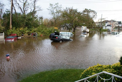 Scenes of Staten Island in the immediate aftermath of Hurricane Sandy