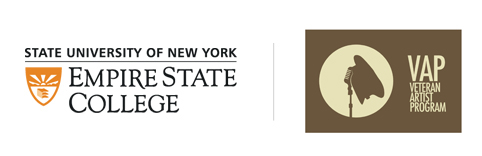 SUNY Empire State College and Veteran Artist Program logos for news release