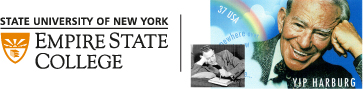 The Yip Harburg Foundation and SUNY Empire State College combined logo.