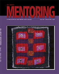 fabric, organza, copper, netting, washers, hand and machine stitched